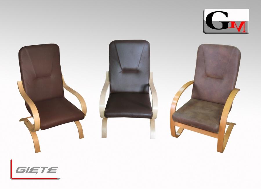 Fotele Gięte